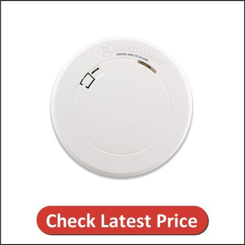 First Alert Smoke Detector and Carbon Monoxide Detector Alarm BRK PRC710