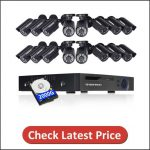 DEFEWAY 16ch CCTV Camera Security System