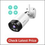 HeimVision Floodlight Outdoor Security Camera Wireless