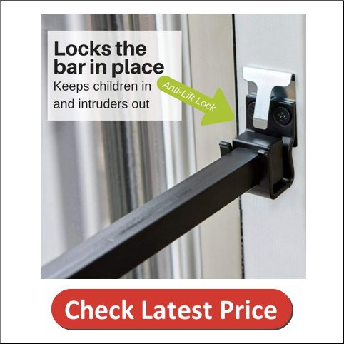 Ideal Security SK110BL SK110 Patio Door Security Bar