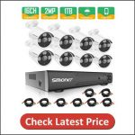 SMONET 16 Channel Security Camera System