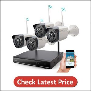 ONWOTE Outdoor Wireless Security Camera System