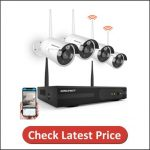 SMONET Outdoor Security Camera System Wireless