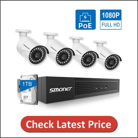 SMONET PoE Security Camera System