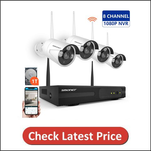 SMONET Wireless Security Camera System
