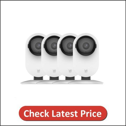 YI 4pc 1080p Wi-Fi IP Indoor Security Surveillance System