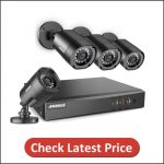 ANNKE 4CH Security Camera System with DVR