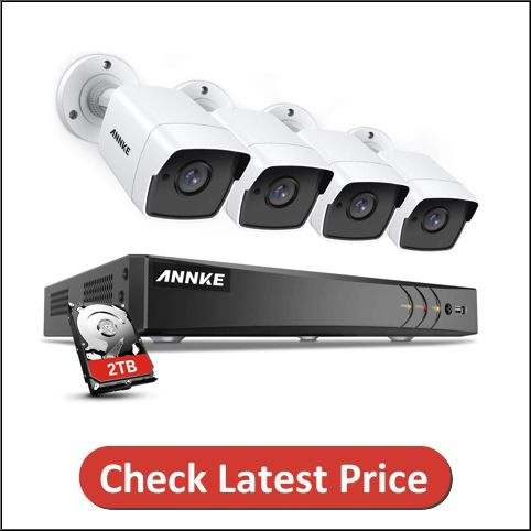 ANNKE 5MP Ultra HD 4K Home Security Camera System
