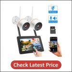 Hiseeu Wireless Security Camera System with Monitor