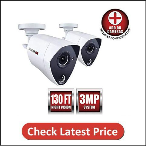 Night Owl 2 Pack Add-on 3MP Dual-Sensor Wired Infrared Camera