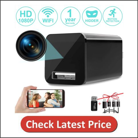 Spy Camera Wireless Hidden wifi Camera with Remote View