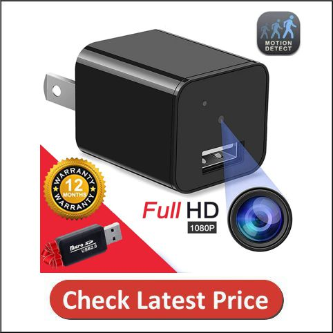 Tusionwin Hidden Camera Spy Camera Full HD 1080P Surveillance Camera