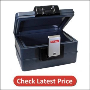 First Alert 2602DF Waterproof Fire Chest with Digital Lock