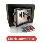 Yuanshikj Electronic Deluxe Digital Security Best Safe for Home, Office