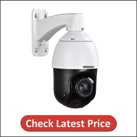 EVERSECU 2MP Auto-Cruise PTZ Security Camera