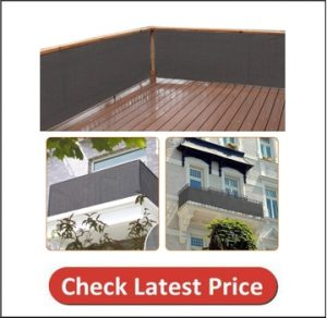 Zimo Sun Protection Weather-Resistant Privacy Screen