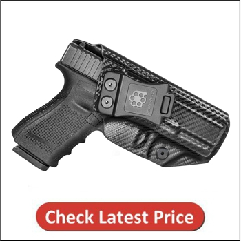 Amberide IWB KYDEX Holster Fit for Glock 19