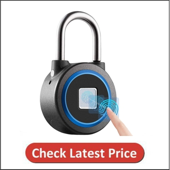 MEGAFEIS Bluetooth Lock Fingerprint Padlock