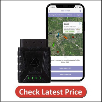 LandAirSea Sync GPS Tracker 4G LTE Real-Time OBD Vehicle and Fleet Tracking Device